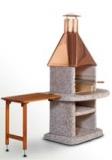 Odkládací stolek Komfort dřevěný hnědý