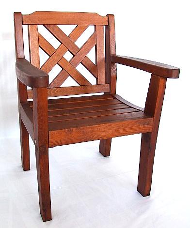 Zahradní dřevěný nábytek masiv