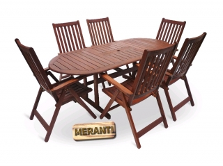 MERANTI PARIS SET 6 V-Garden